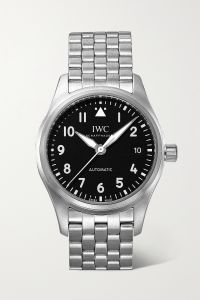 iwc schaffhausen pilot´s automatic 36mm stainless steel watch