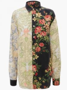 relaxed fluid shirt j w anderson