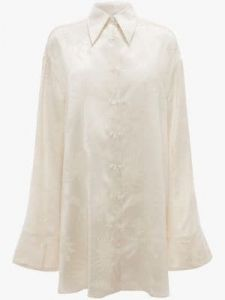 relaxed shirt tunic j w anderson
