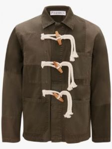 workwear jacket with toggles j w anderson