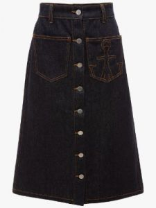 a-line patch pocket skirt j w anderson