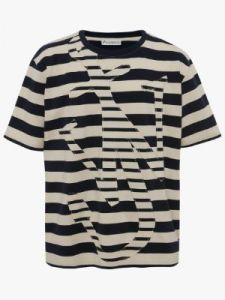 oversize anchor t-shirt j w anderson