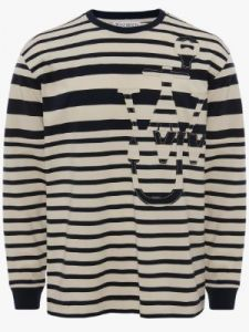 deconstructed anchor ls t-shirt j w anderson