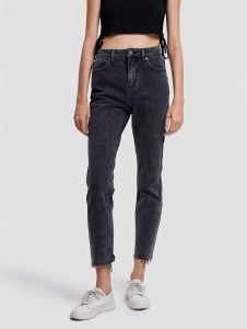 hight waist tapered jeans
