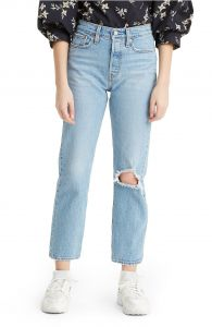 wedgie ripped high waist jeans levi´s