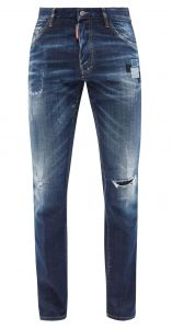 dsquared2 cool guy distressed skinny-leg jeans