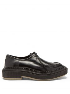adieu chunky-sole leather derby shoes