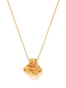 alighieri the light years 24kt gold-plated necklace