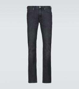 acne studios max used straight-fit jeans