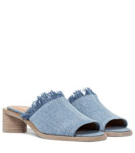 acne studios denim sandals