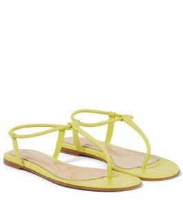 gianvito rossi jaey leather thong sandals
