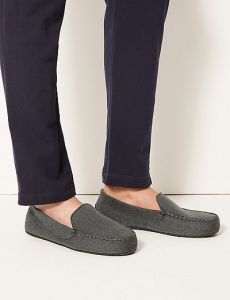 moccasin slippers with thermowarmth