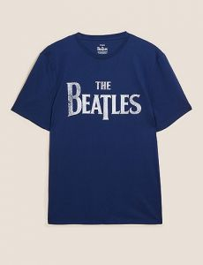 pure cotton the beatles graphic t-shirt