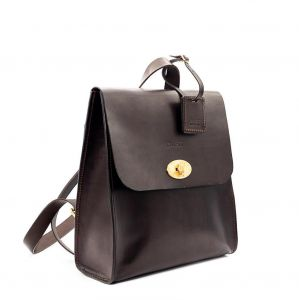 the dust company mod 232 backpack in cuoio havana