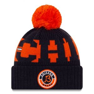 chicago bears cold weather sport knit new era